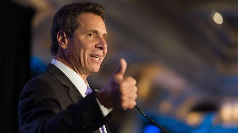 Gov. Andrew Cuomo attends the Nassau County Democratic