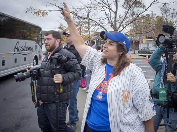 New York Mets fan Faith Harrison of Flushing