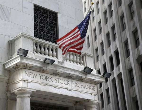 Stocks were down modestly Monday, Oct. 26, 2015,