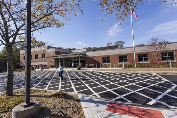 The Longwood Public Library re-opens following the completion