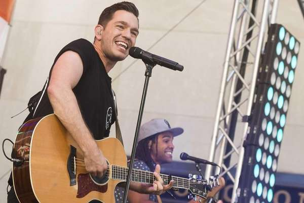 Andy Grammer will perform the national anthem at