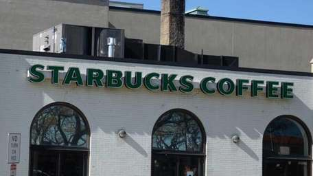 The Starbucks on West Park Avenue in Long