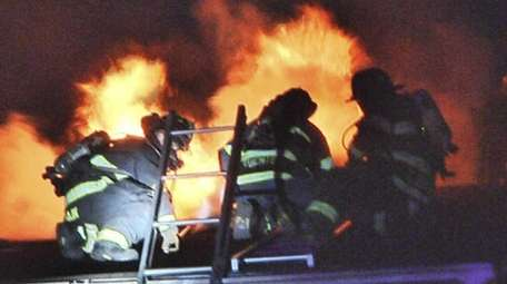 An early-morning fire gutted a private home in