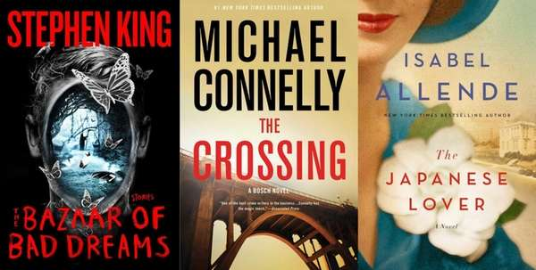 November 2015 brings new releases by Stephen King,