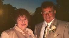 Lorraine and Vincent Barone of North Woodmere in