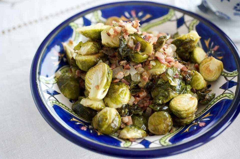 WHAT YOU'LL NEED: 1 1/2 pounds Brussels sprouts,