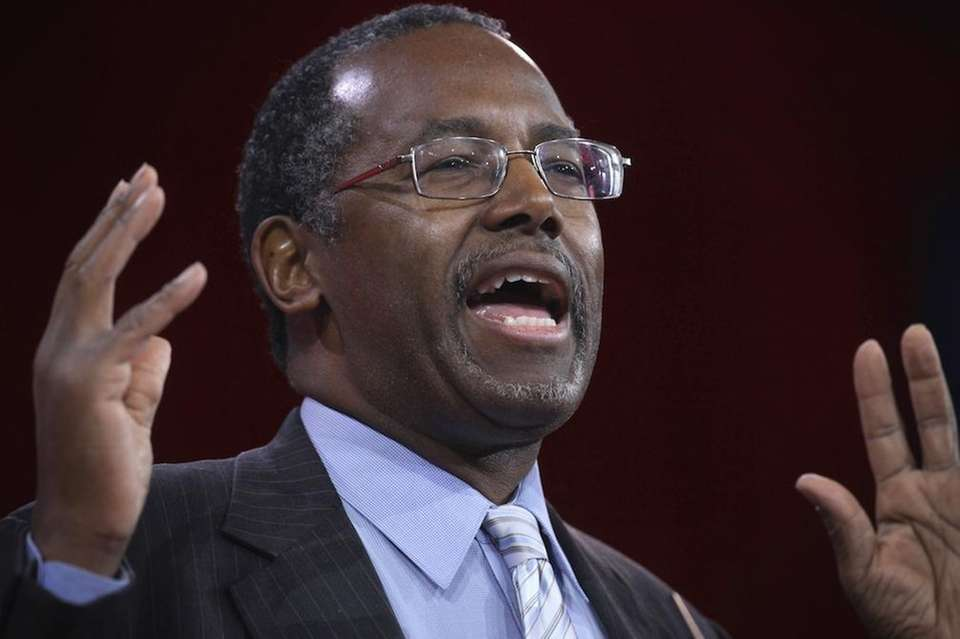About Ben Carson Age: 64 Education: Carson majored