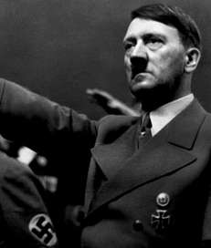 A picture dated 1939 shows German Nazi Chancellor