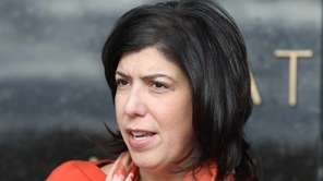 Acting Nassau District Attorney Madeline Singas criticizes Hempstead