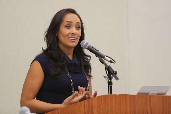 Erika Andiola, co-founder of the Dream Action Coalition,