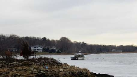 Setauket Harbor in East Setauket, Jan. 13, 2015.