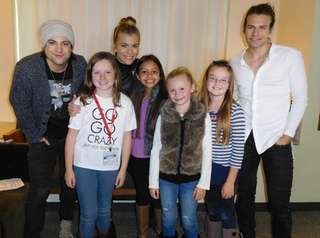 The Band Perry meets Kidsday