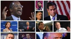 Meet the GOP candidates for president -- all