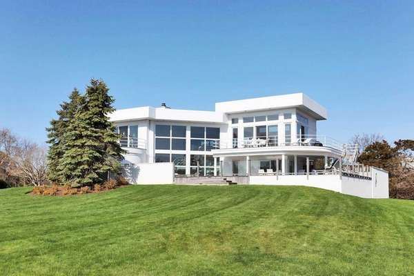 This Westhampton Beach Contemporary, on the market in