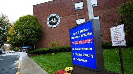 John T. Mather Memorial Hospital, located at 75