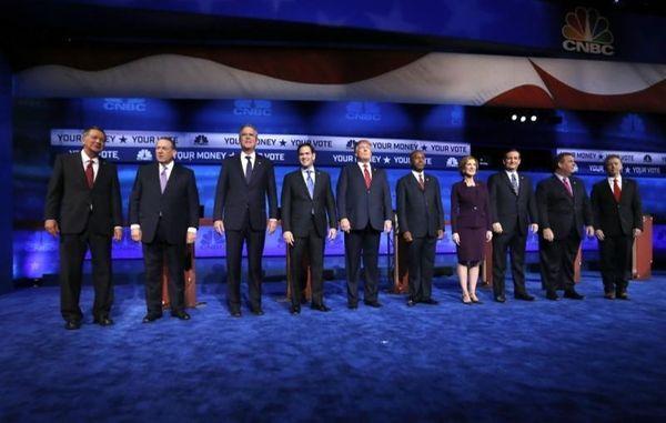 John Kasich, Mike Huckabee, Jeb Bush, Marco Rubio,