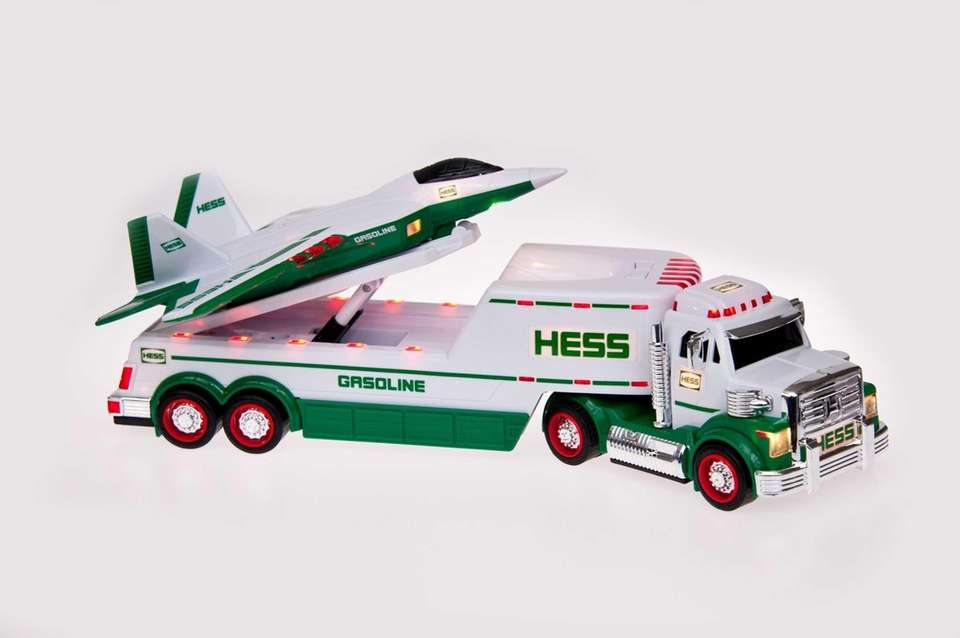 Hess' first jet into the fleet, the tractor-trailer