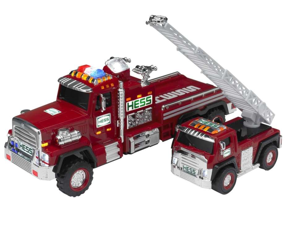 The oversize tires, swiveling chrome-detailed fire-hose nozzles, LED
