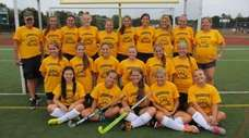 Lindenhurst High School's girls varsity field hockey team