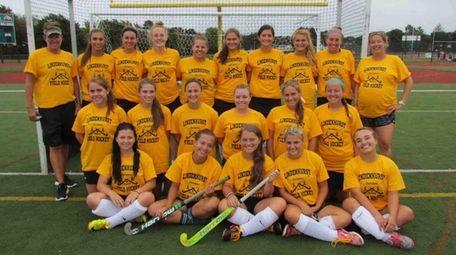 Lindenhurst High School's girls varsity field hockey team