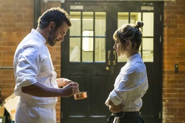 Bradley Cooper and Sienna Miller in