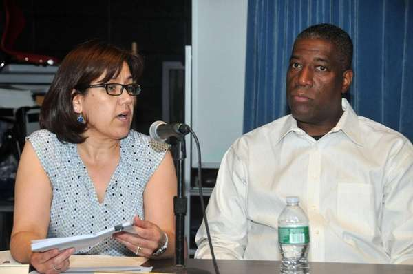 Hempstead trustee Ricky Cooke Sr. discusses issues at