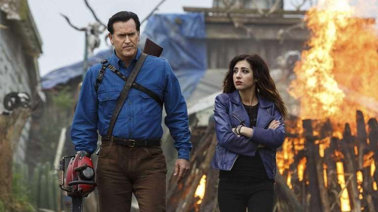"""Ash vs Evil Dead"" premieres Saturday, Oct. 31"