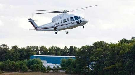 Campaign finance records reveal that helicopter companies and