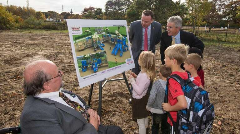 During a groundbreaking ceremony on Thursday, Oct. 29,