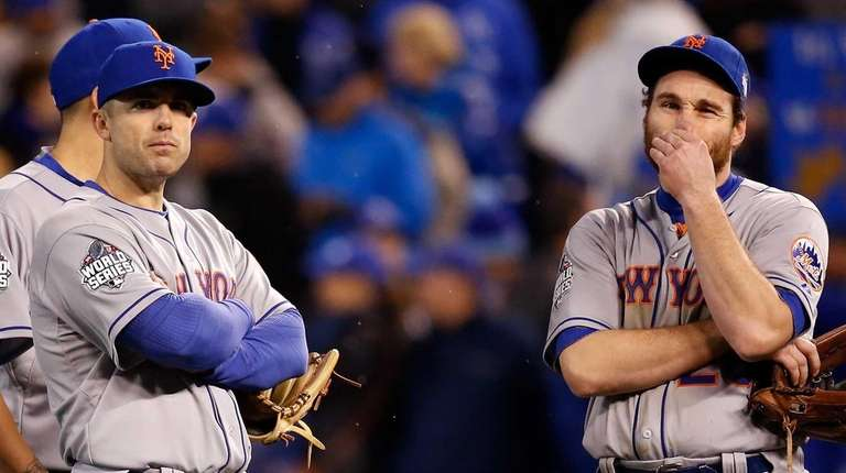 David Wright and Daniel Murphy of the New