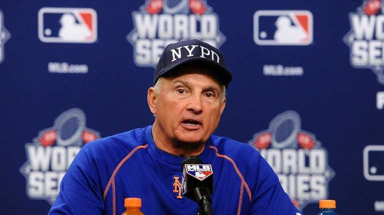 NY Mets manager Terry Collins during press conference