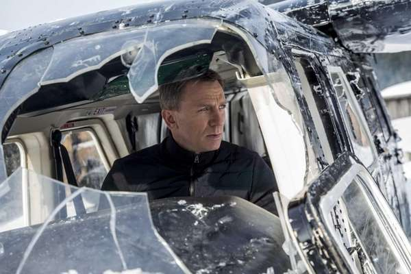 Daniel Craig stars as James Bond in