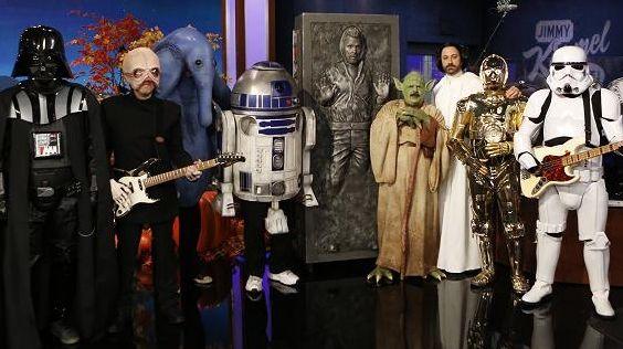 Jimmy Kimmel, an d the Force Awakens --
