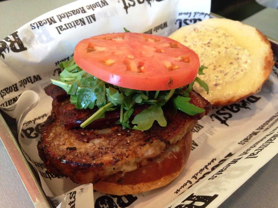 Pork-Belly-Porchetta BLT at Roast Sandwich House, Melville: The