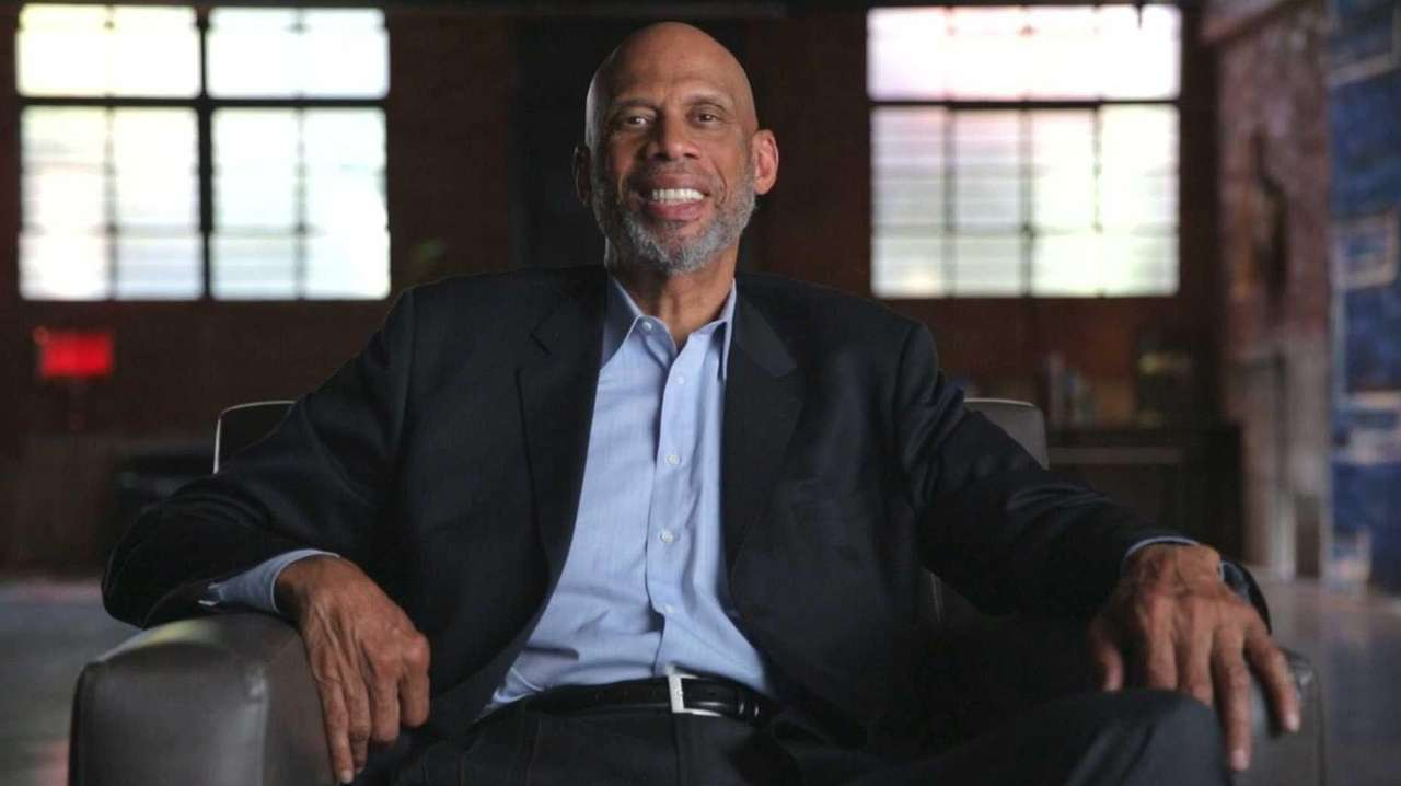NBA Star Kareem Abdul Jabbar in the HBO