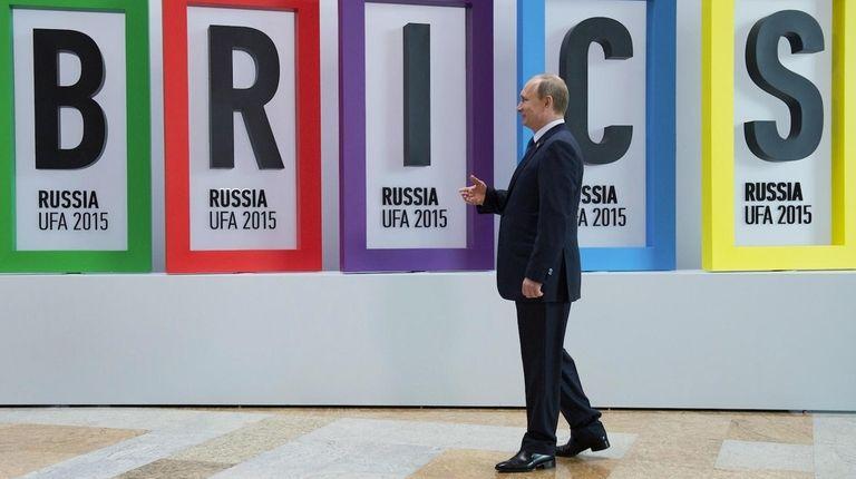 President of the Russian Federation Vladimir Putin at
