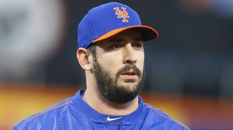 New York Mets starting pitcher Matt Harvey during