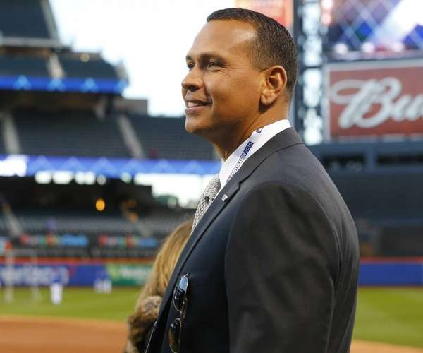 New York Yankees Alex Rodriguez during batting practice