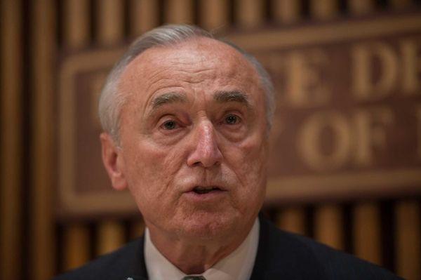 NYPD Commissioner William Bratton says the so-called Ferguson