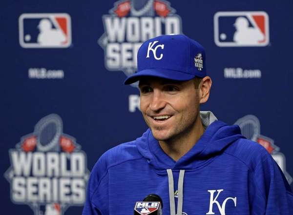 Kansas City Royals starting pitcher Chris Young speaks