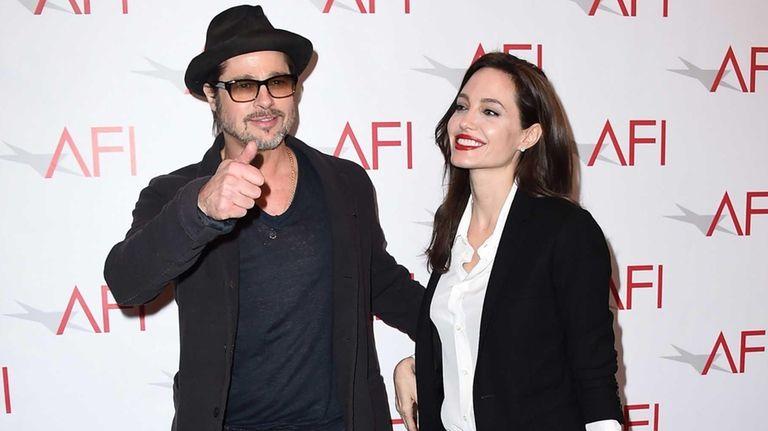 Brad Pitt and Angelina Jolie spoke about the