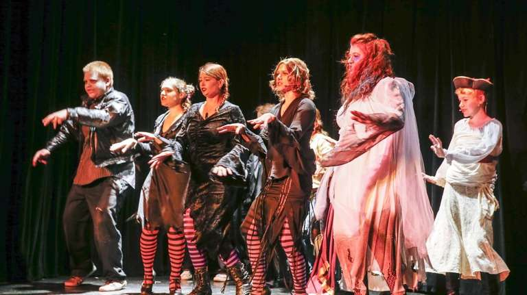 Visitors are treated to The Monster Mash Musical