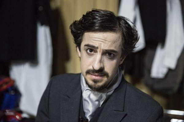 Darren St. George, who plays Edgar Allen Poe,