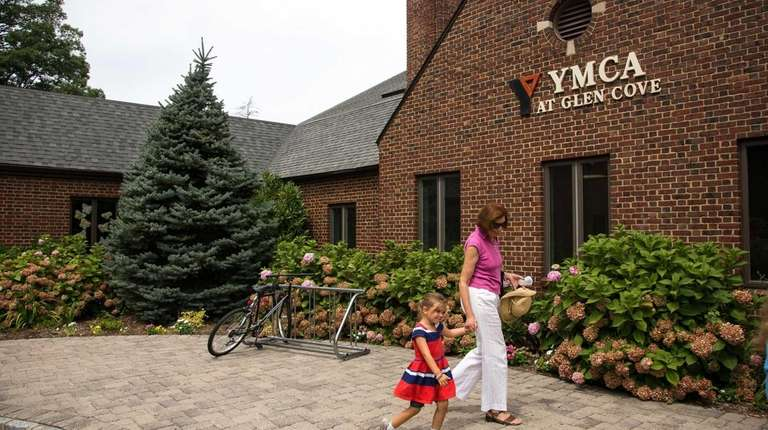 The exterior of the Glen Cove YMCA in
