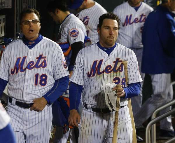 New York Mets second baseman Daniel Murphy in
