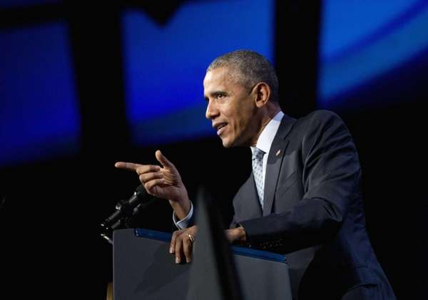 President Barack Obama on Oct. 27, 2015, in