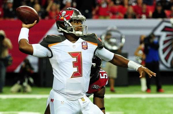 Jameis Winston #3 of the Tampa Bay Buccaneers