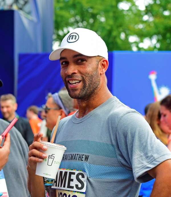 James Blake, former professional tennis player, speaks with