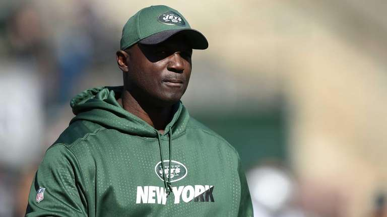 Head coach Todd Bowles of the New York