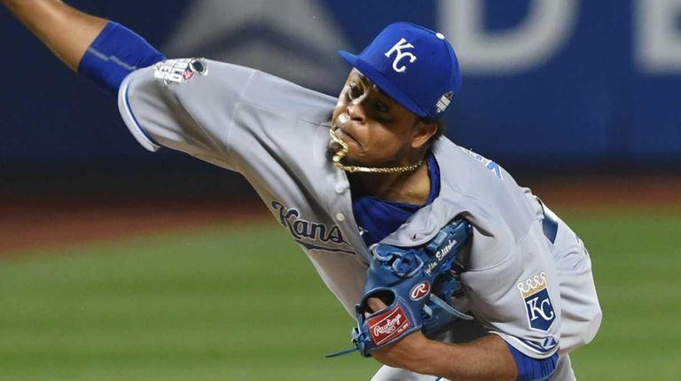 Kansas City Royals starting pitcher Edinson Volquez (36)